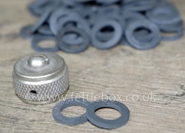 Coleman 3-part filler cap seal - small x2