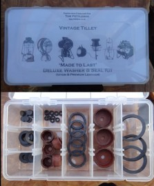 Tilley Deluxe Washer & Seal Kit (inc FL6) or Refill